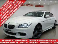 2014 14 BMW 6 SERIES 3.0 640D ( 313 BHP) M SPORT GRAN COUPE 4DR STEPTRONIC AUTO
