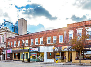 Apartments for rent in Downtown Owen Sound.  Newly refurbished.