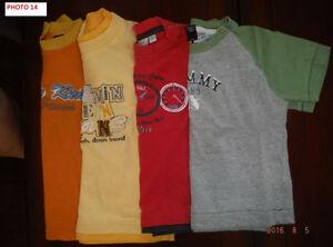4 t-shirts 12-18 mois de marque Saguenay Saguenay-Lac-Saint-Jean image 1