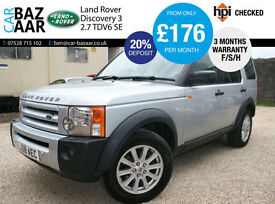 Land Rover Discovery 3 2.7TD V6 auto SE+NEW CAMBELT AND WATERPUMP+2 KEYS