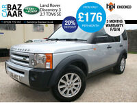 Land Rover Discovery 3 2.7TD V6 auto SE+NEW CAMBELT AND WATERPUMP+2 KEYS