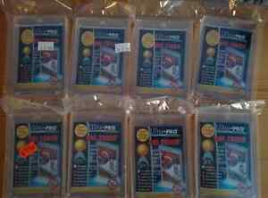 16 BRAND NEW ONE-TOUCH SPORTS CARD HOLDERS MAGNETIC