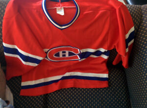 VINTAGE 90s CCM CANADIENS HOCKEY JERSEY MENS MEDIUM