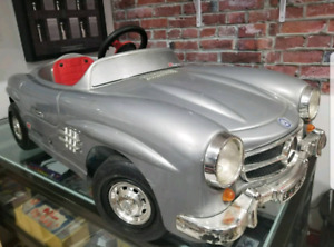 1970s Made In Italy Fibreglass Mercedes Benz Pedal Toy Car