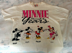 $5 MADE IN USA DISNEYLAND MINNIE MOUSE T SHIRT