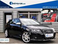 2007 07 Audi S3 2.0 TFSI Quattro 3dr with Red/Black Split Heated Leather
