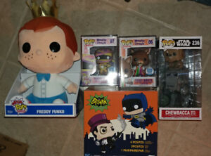 Funko, Hot Toys,  Disney, Marvel, Kidrobot