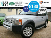 Land Rover Discovery 3 2.7TD V6 ( 5st )+CAMBELT CHNAGED+MANUAL+MARCH 2018 MOT