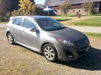CLEAN CARPROOF 2010 Mazda3 Sport Grand Touring Hatchback