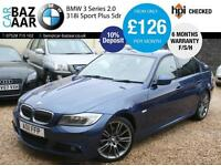 BMW 318 2.0 i Sport Plus+F/S/H+MAY 2017 MOT+6 MONTH WARRANTY+2 OWNERS