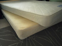 Orthopedic Mattress & Box Spring: Full/Double | Clean & Spotless