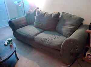 Free couch and loveseat. Need gone tonight