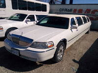 3 Limosines  Lincoln Town Car Limo For Sale