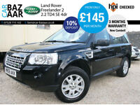 Land Rover Freelander 2 2.2Td4 SE+NEW CAMBELT+NAV+PAN ROOF