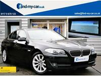 "2010 60 BMW 520 2.0D SE Saloon Manual Black with Cream i-Drive | 10"" WIDESCREEN"