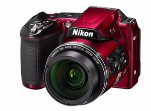 NIKON CoolPix L840 16.1 Camera with 3.0-Inch LCD screen (RED)