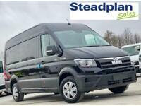 2021 4MOTION BRAND NEW 180PS MAN THE BLACK MWB HIGH ROOF AIR CON 177 VW CRAFTER