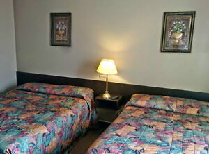 Hotel Rooms for Rent, Bonnyville AB, $65/night or $390/week