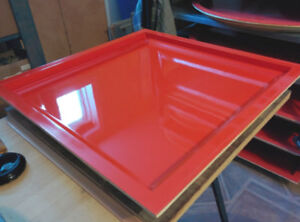 24in. x 24in. gelcoated fiberglass mold (o-gee inner edge)