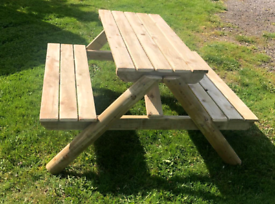 Picnic bench,garden bench table 4ft