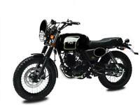 AJS Tempest Scrambler 125 Retro Motorcycle 125 cc motorbike
