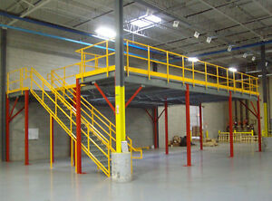RAISED | STORAGE PLATFORM | STRUCTURAL MEZZANINE | INDUSTRIAL