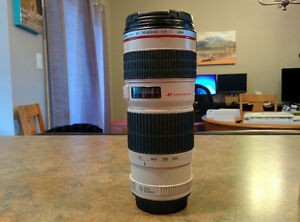Canon 70-200MM f4 L USM with lenshood