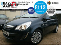Vauxhall Corsa 1.2i 16v ( 85ps ) ( a/c ) Energy+1 OWNER+LOW MILEAGE+FEB 2018 MOT