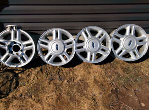 4.  Rims off f150 17 inch and 265/70/17