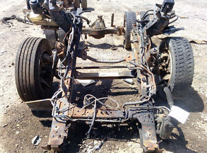 ISUZU FRONT AXLE ASSEMBLY