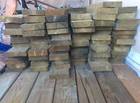 Deck/Fence wood for sale