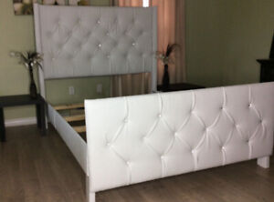Upolstered tufted headboards and Bedframes