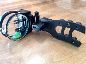 FOR SALE: Black Trophy Ridge Fixed 5-pin bow sight (RH)