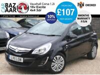 Vauxhall Corsa 1.2i 16v ( 85ps ) ( a/c ) Excite+F/S/H+JULY 17 MOT+6 M WARRANTY