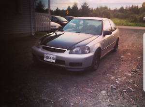 Honda civic turbo forger 1999 b18a1 215whp