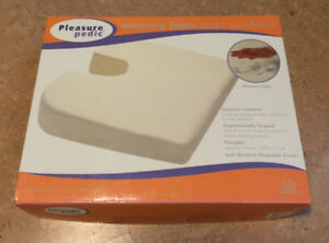 Pleasure Pedic Memory Foam Seat Cushion