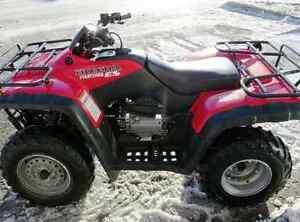 I am looking for a mint condition honda 350 4x4 2000 to 2003