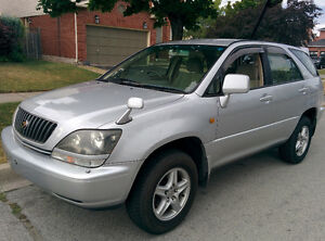 1999 Toyota Harrier-Right Hand Drive-Postal Vehicles for RSMC'S