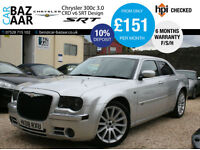 Chrysler 300C 3.0CRD V6 auto SRT Design+F/S/H+JUNE 17 MOT+6 MONTH WARRANTY+2KEYS