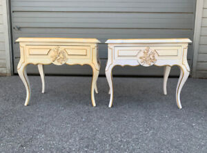 FRENCH NIGHT TABLES