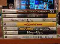 7 Xbox 360 games $20 for them all