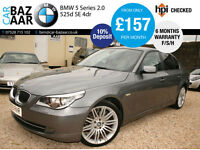 BMW 5 Series 3.0 525d SE 4dr+F/S/H+2 OWNERS+MAY 17 MOT+2 KEYS+