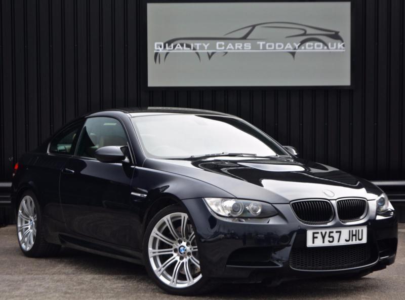 BMW M3 4.0 V8 Manual Coupe * Jerez Black + Bamboo + EDC + High Spec ...