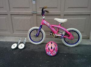 Kids Bicycle and Helmet