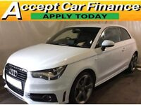 Audi A1 2.0TDI ( 143ps ) 2012MY Black Edition FROM £51 PER WEEK.
