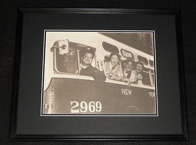 The Honeymooners Cast Framed 11x14 Photo Poster Jackie Gleason Art Carney