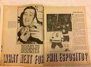 Action Sports Hockey Yearbook 1971-72 NHL Magazine Windsor Region Ontario image 3