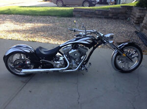 - 2009 Custom Big Bear Chopper -Pro Street (COLD LAKE)
