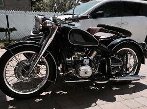 Moto Sidecar Chang Jiang