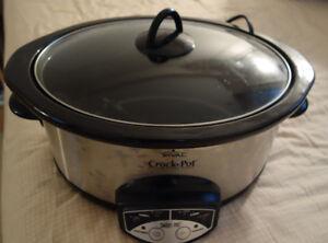 Rival 6 qt Crock Pot (Slow Cooker)